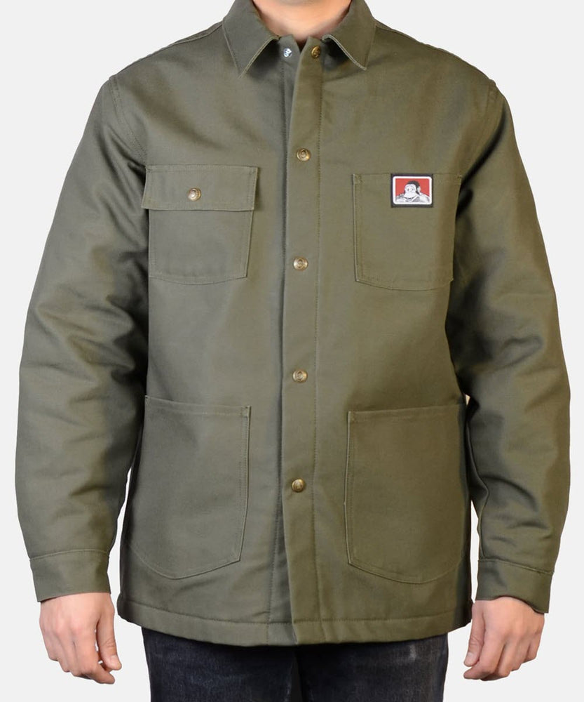Ben Davis Men's Original Chore Coat - Olive Duck