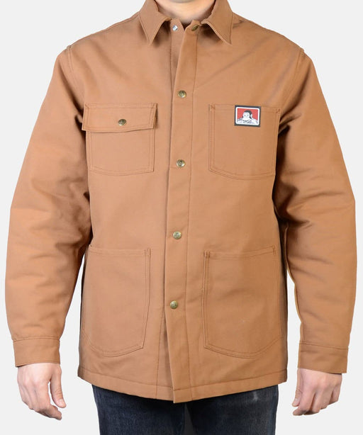 Ben Davis Men's Original Chore Coat - Brown Duck