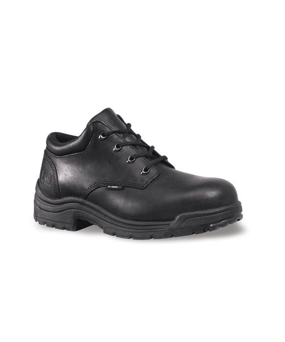Timberland PRO® Men's TiTAN® Safety Toe Oxford Shoes 40044 in Black at Dave's New York