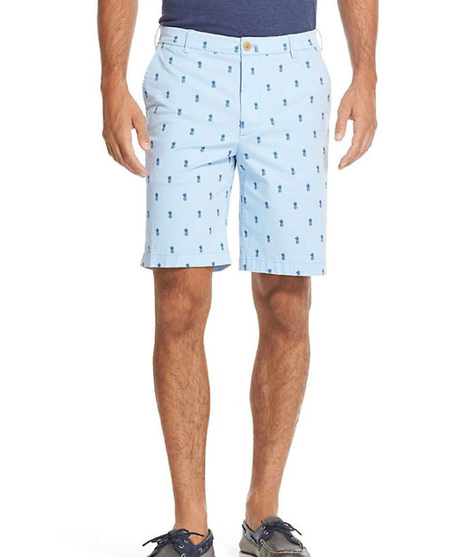 Izod Saltwater Stretch Pineapple Print Shorts