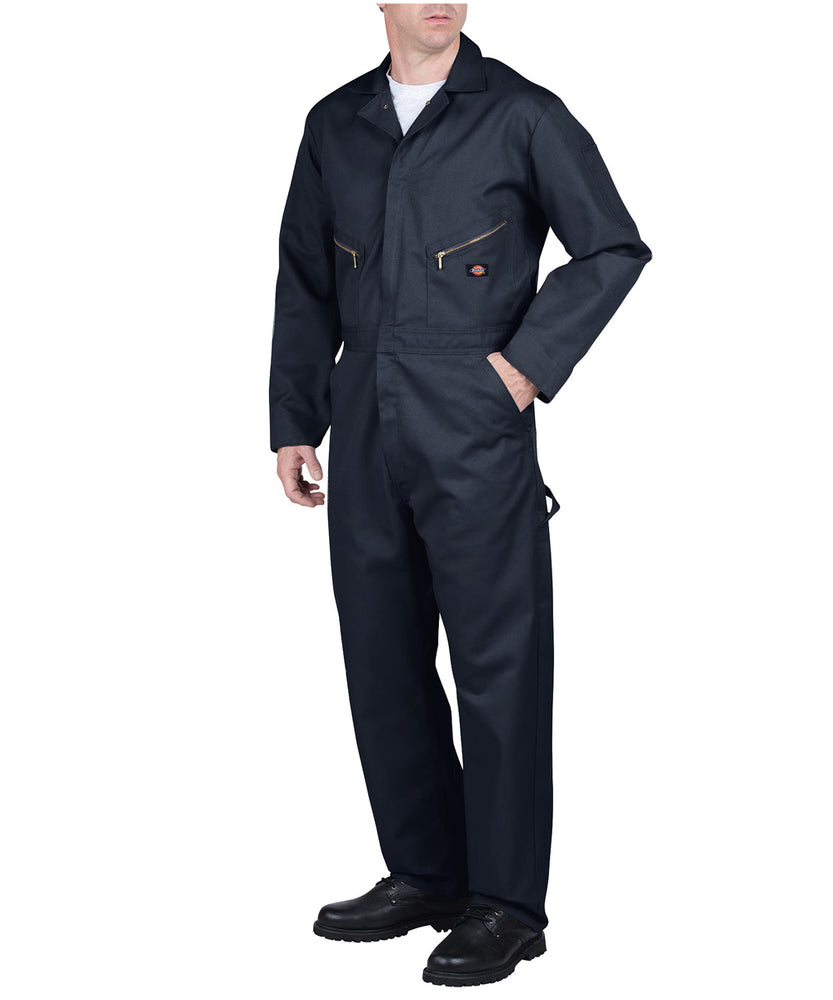 Dickies 48799 Long Sleeve Coverall in Dark Navy at Dave's New York