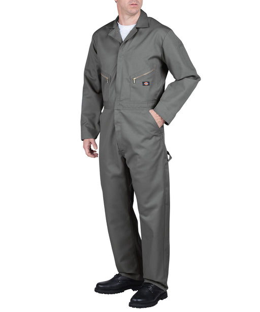 Dickies 48799 Long Sleeve Coverall in Grey at Dave's New York