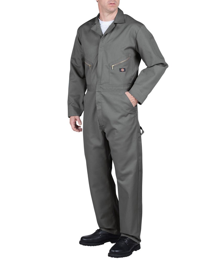 Dickies 48799 Long Sleeve Coverall - Grey