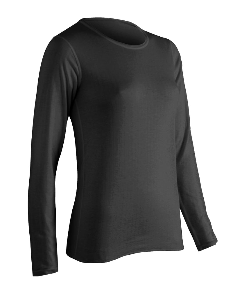ColdPruf Women's Performance Thermal Top in Black at Dave's New York