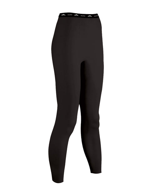 ColdPruf Women's Performance Thermal Bottoms - Black