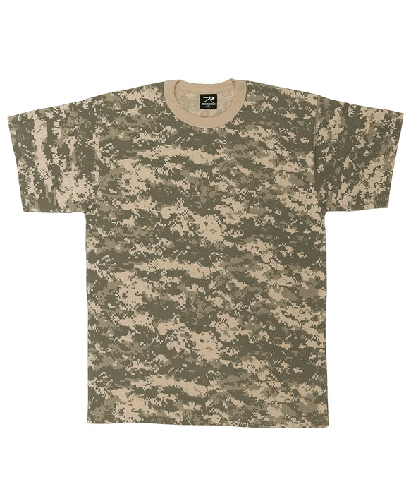 Rothco Digital Camouflage T-shirt in ACU Digital Camo at Dave's New York