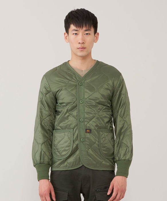 Alpha Industries ALS/92 Field Coat Liner in Olive Drab at Dave's New York