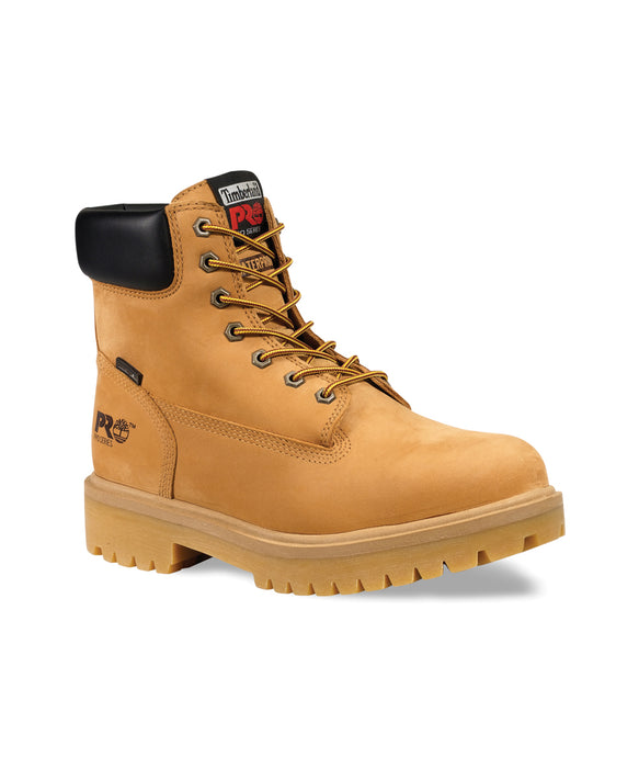 Timberland PRO® Men's Direct Attach Steel Toe Work Boots in Wheat at Dave's New York