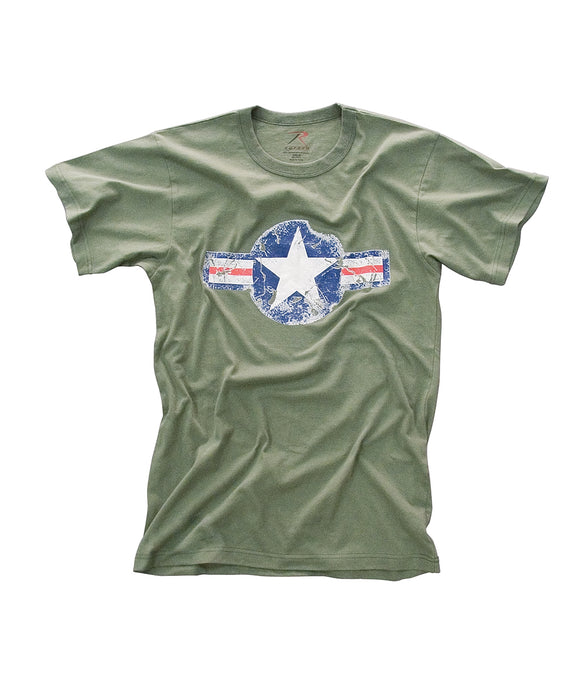 Rothco Army Air Corps Vintage Military Tee – Olive Drab