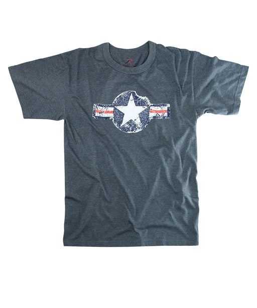 Rothco Army Air Corps Vintage Military T-shirt in Blue at Dave's New York