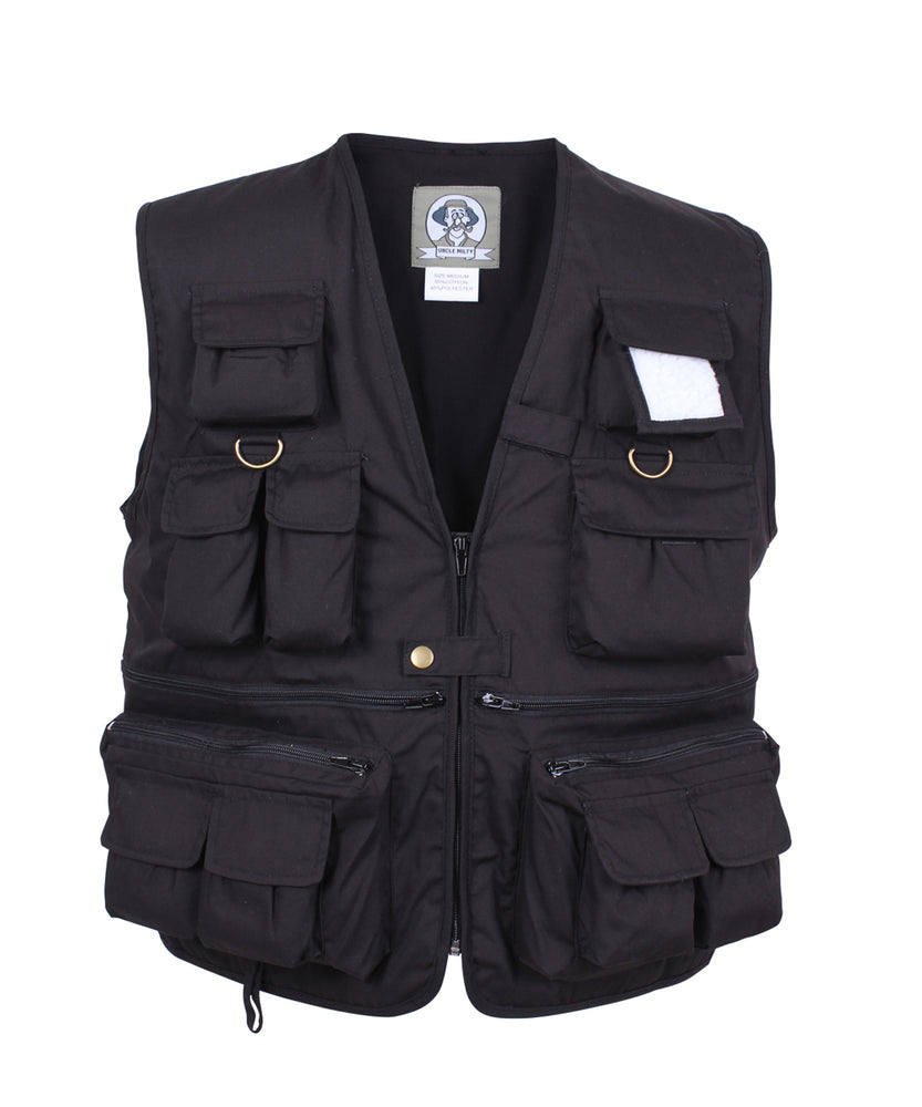Rothco Uncle Milty Travel Vest (7531) – Black