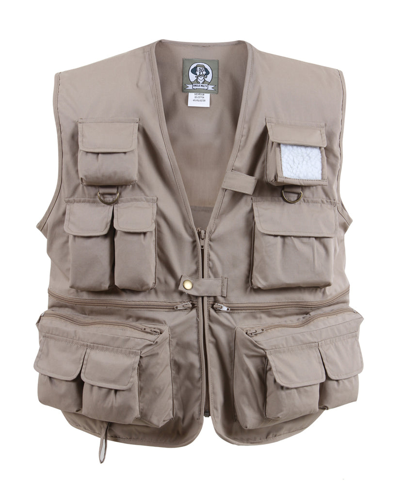 Rothco Uncle Milty Travel Vest (7546) – Khaki