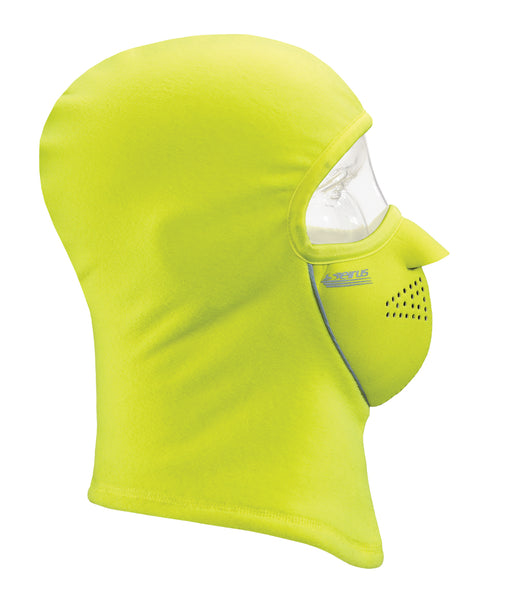Seirus Combo Clava® Winter Face Mask 8032 in Bright Lime at Dave's New York