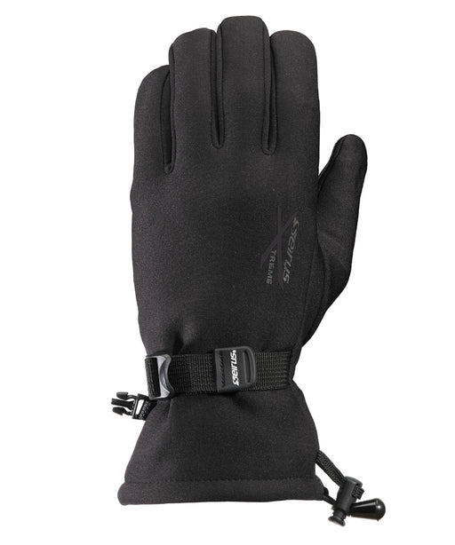 Seirus Men's Xtreme All Weather Gauntlet Glove – Waterproof/Insulated – 8117 - Black