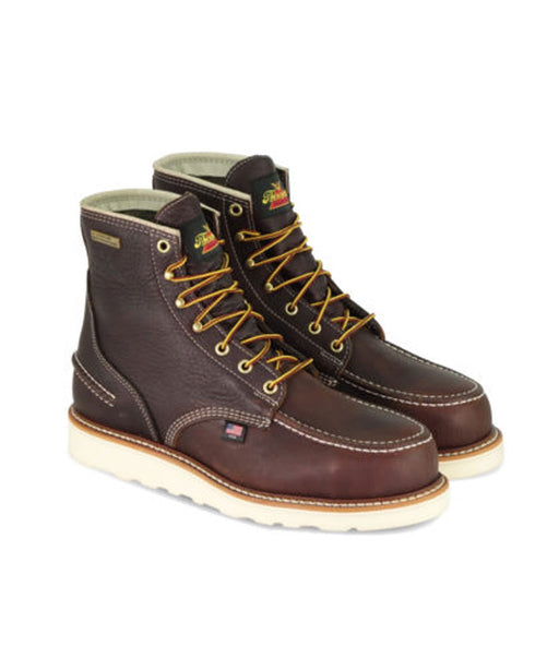 Thorogood 1957 Series 6-inch Waterproof Moc Toe Boots - Briar Pitstop