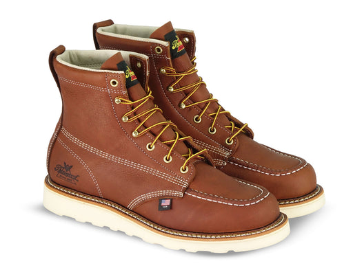 Thorogood American Heritage 6-inch Moc Toe in Tobacco at Dave's New York