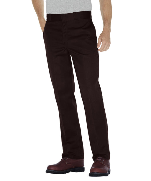 Dickies Original 874 Work Pants in Dark Brown at Dave's New York
