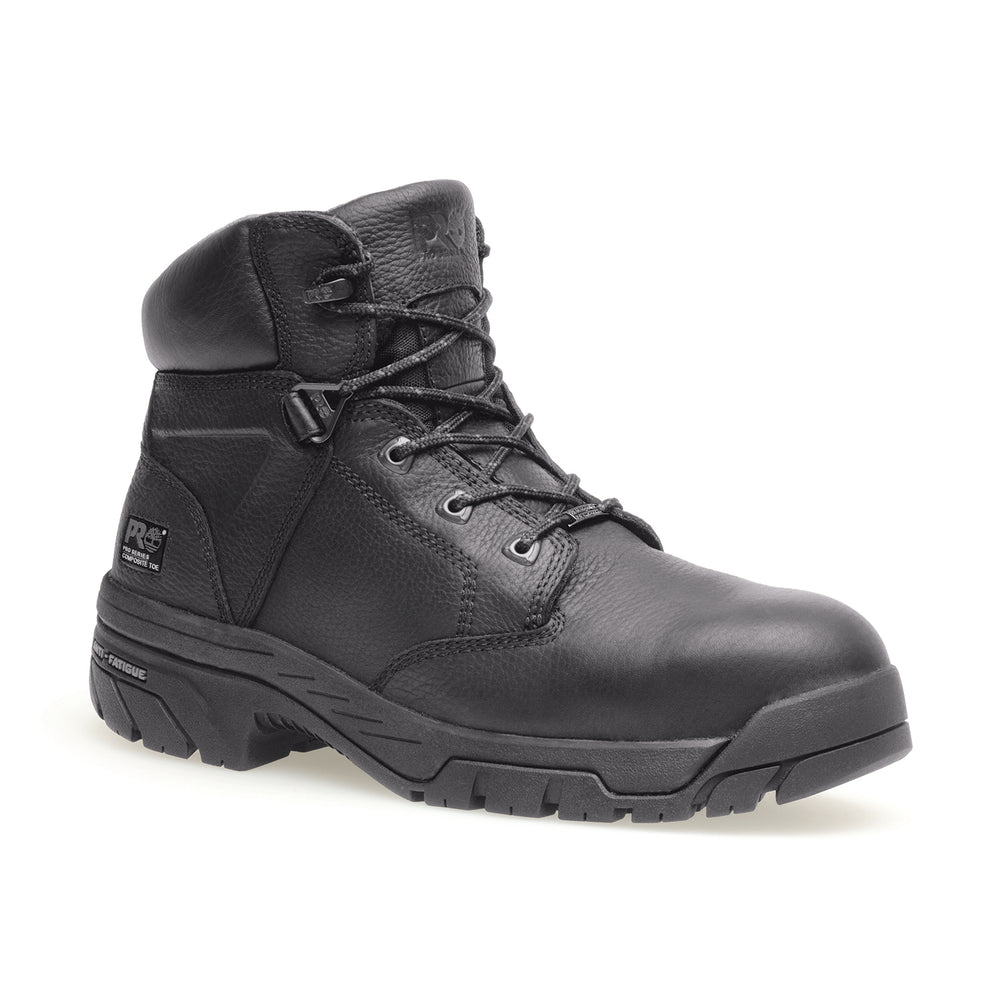 Timberland PRO® Men's Helix Composite Toe Work Boots in Black at Dave's New York