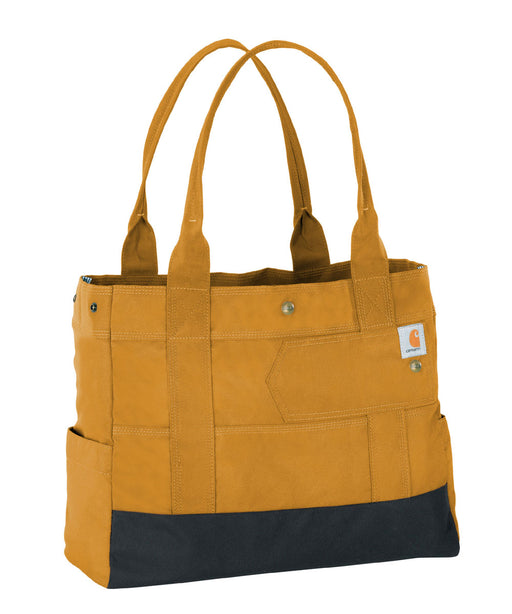 Carhartt Women's East West Tote Bag in Carhartt Brown at Dave's New York