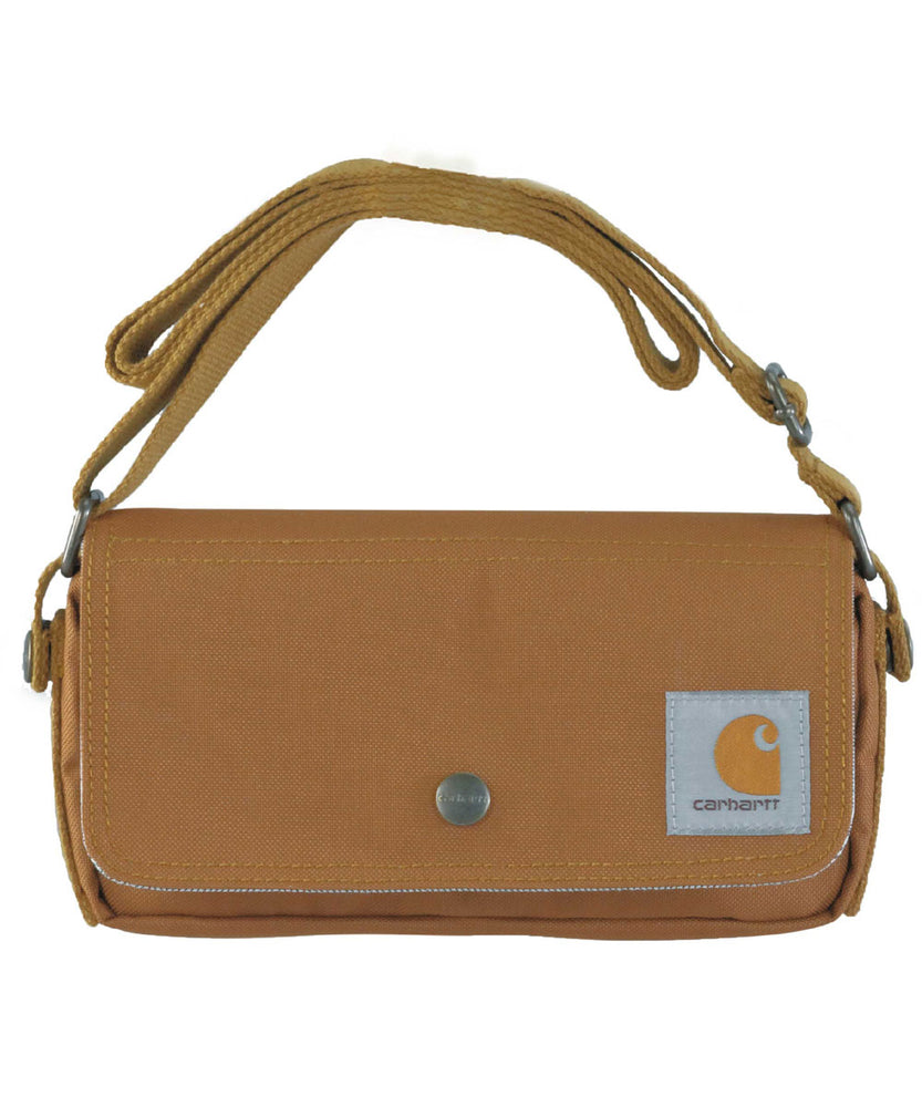 Carhartt Essentials Pouch in Carhartt Brown at Dave's New York