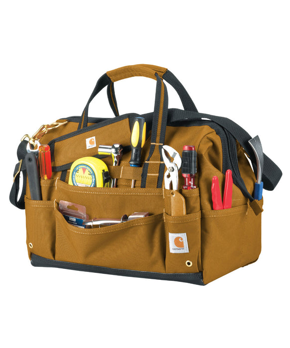 Carhartt Legacy 16 inch Tool Bag in Carhartt Brown at Dave's New York