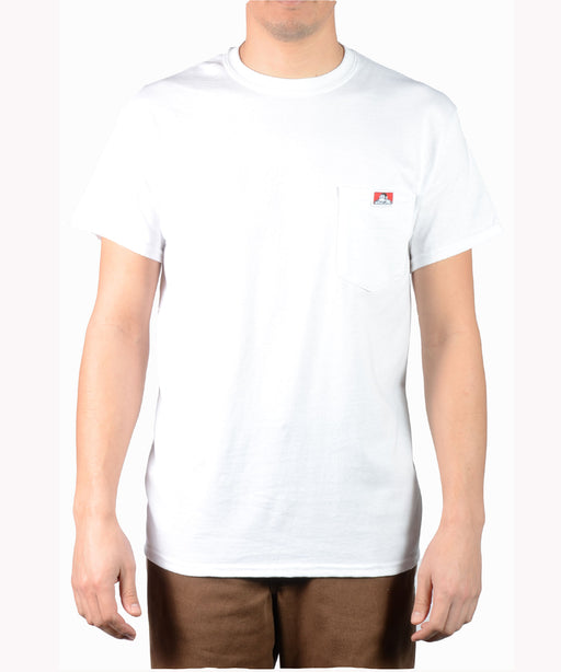 Ben Davis Short Sleeve Pocket Tee - White