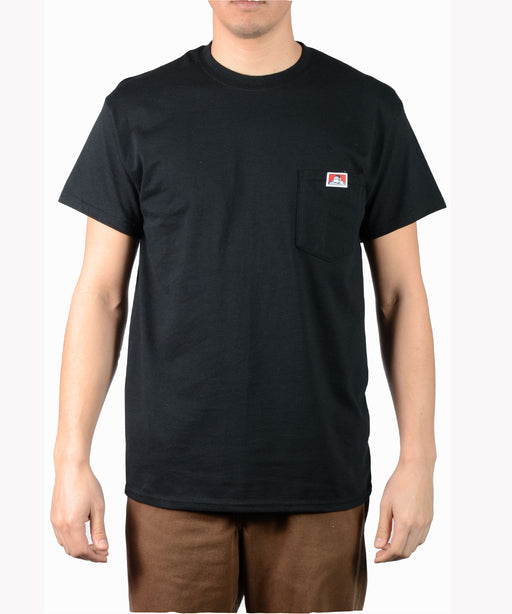 Ben Davis Short Sleeve Pocket T-shirt in Black at Dave's New York