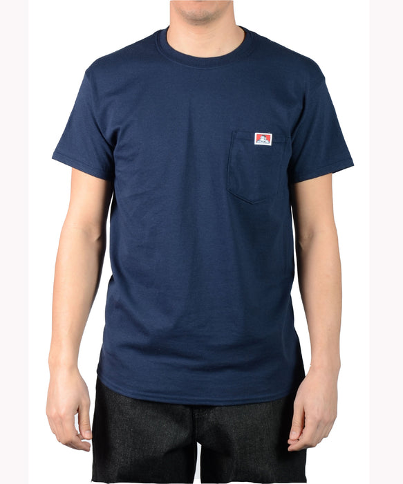 Ben Davis Short Sleeve Pocket Tee - Navy