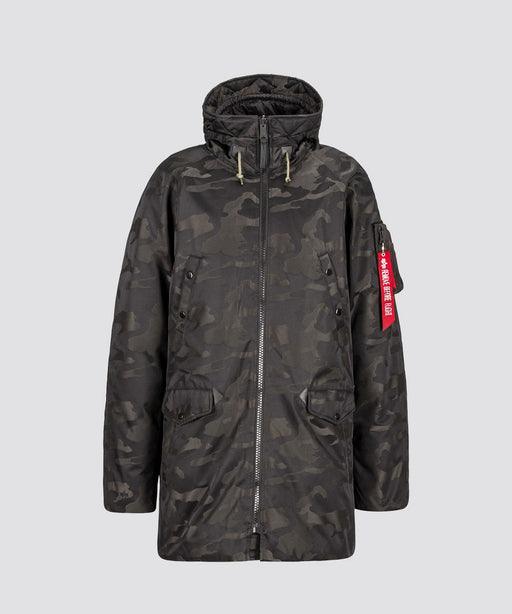 Alpha Industries Men's N-3B Down Parka in Jacquard at Dave's New York