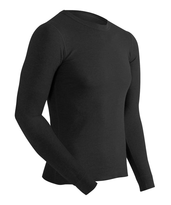 ColdPruf® Basic Layer Men's Thermal Tops  - Black