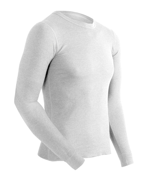 ColdPruf® Basic Layer Men's Thermal Tops  - White