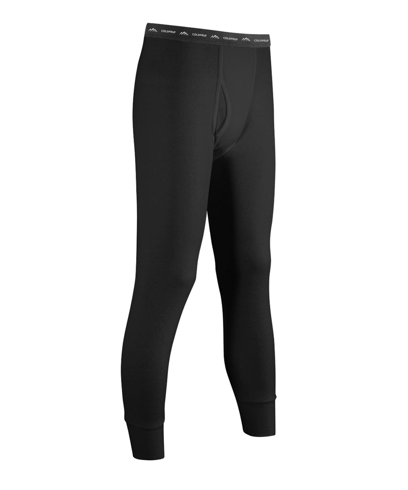 ColdPruf® Basic Layer Men's Thermal Bottoms - Black