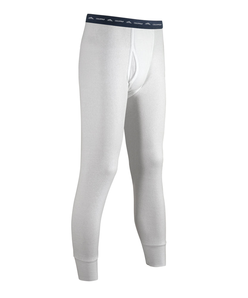 ColdPruf® Basic Layer Men's Thermal Bottoms - White