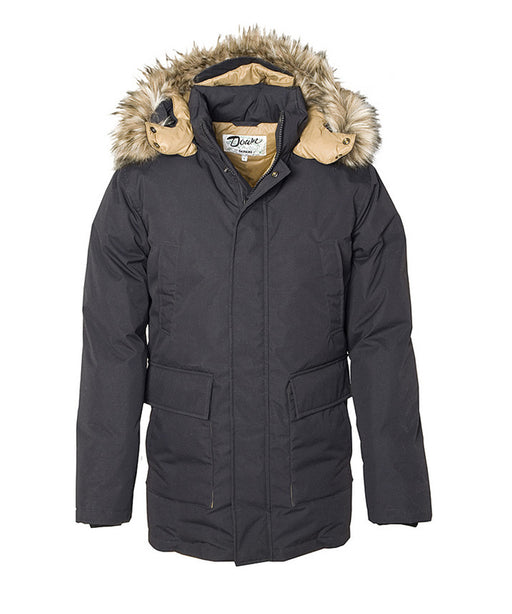 Schott Men's Iceberg Down Parka - 9156D - Black