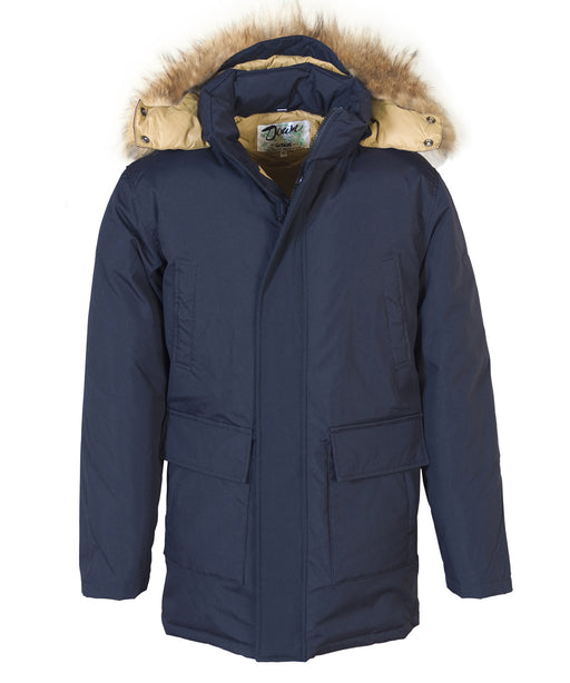 Schott Men's Iceberg Down Parka - 9156D – Navy
