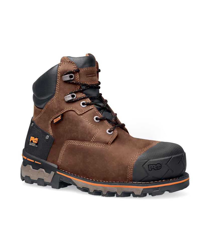 Timberland PRO® Men's Boondock Insulated Safety Toe Work Boots in Brown at Dave's New York