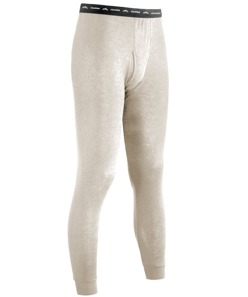 ColdPruf Authentic Wool Plus Men's Thermal Underwear Pants in Oatmeal at Dave's New York