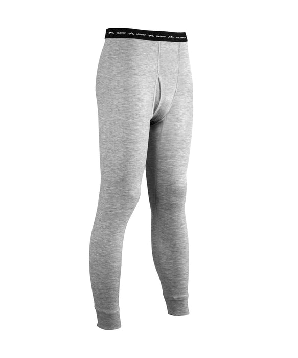 ColdPruf Men's Platinum II Men's Base Layer Bottom in Grey at Dave's New York