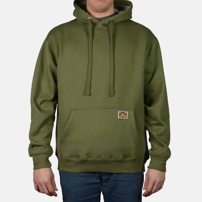 Ben Davis Heavyweight Hooded Sweatshirt - Olive