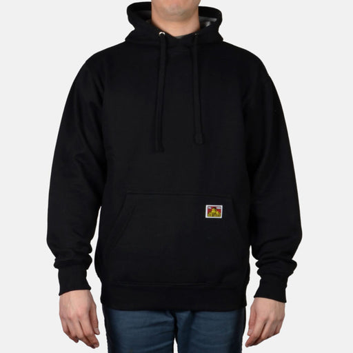 Ben Davis Heavyweight Hooded Sweatshirt in Black at Dave's New York