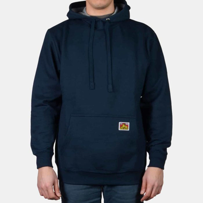 Ben Davis Heavyweight Hooded Sweatshirt - Navy