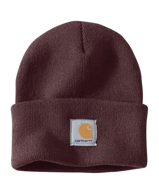 Carhartt A18 Watch Hat (Beanie) - Deep Wine