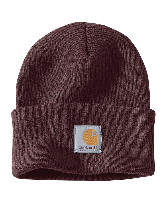 Carhartt A18 Watch Hat (Beanie) in Deep Wine at Dave's New York