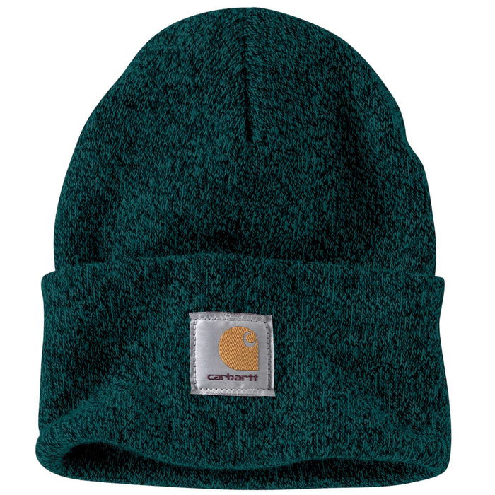 Carhartt A18 Acrylic Knit Watch Hat - Hunter Green/Black