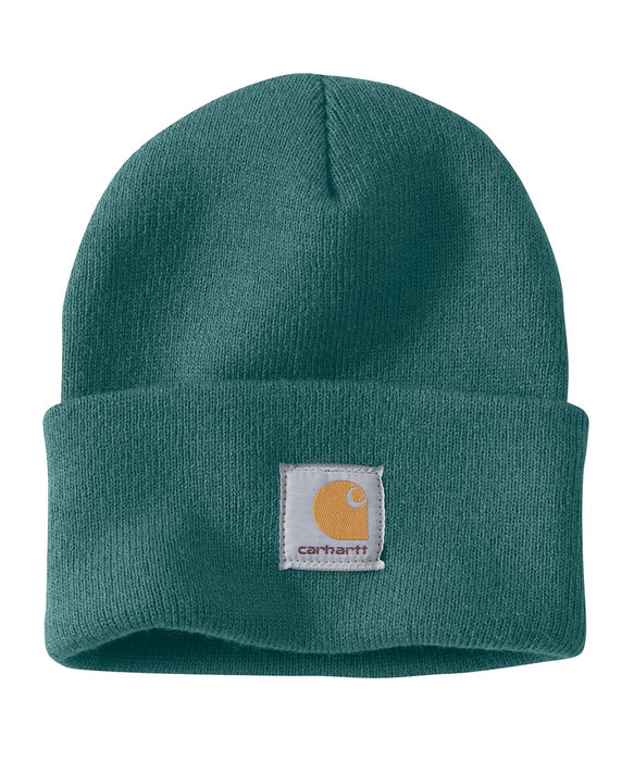Carhartt A18 Acrylic Knit Watch Hat - Blue Green