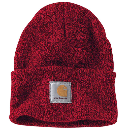 Carhartt A18 Acrylic Knit Watch Hat - Red/Navy