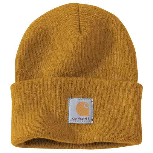 Carhartt A18 Acrylic Knit Watch Hat - Carhartt Gold