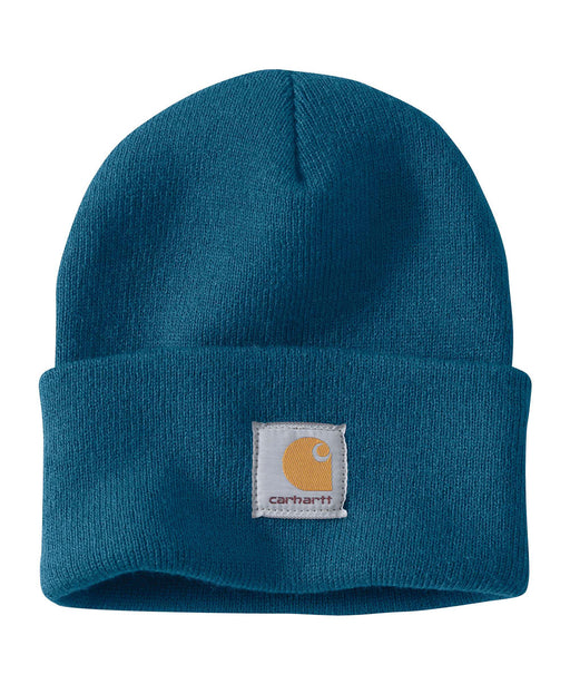 Carhartt A18 Watch Hat (Beanie) in Ocean Blue Heather at Dave's New York