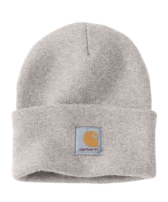 Carhartt A18 Watch Hat (Beanie) - Alabaster Heather at Dave's New York