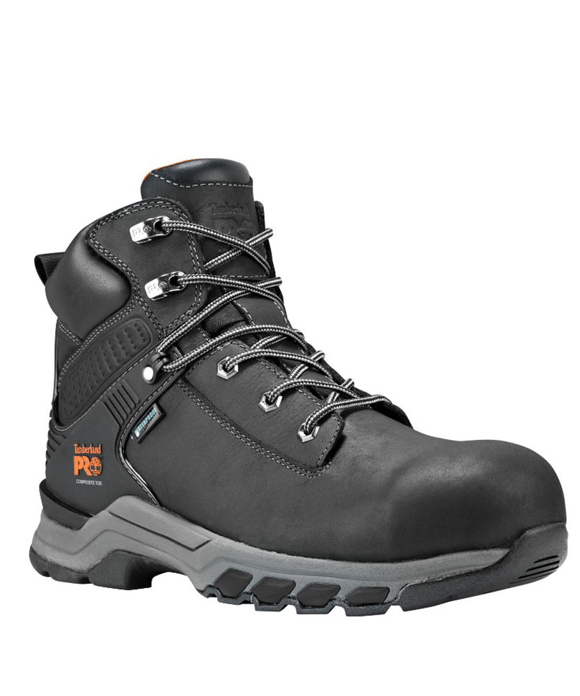 Timberland PRO Hypercharge Composite Toe Work Boots - A1RU5 in Black at Dave's New York